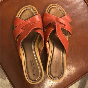 Shoes - Naturalizer Number 5 Comfort Sandals Red Sz 10.5